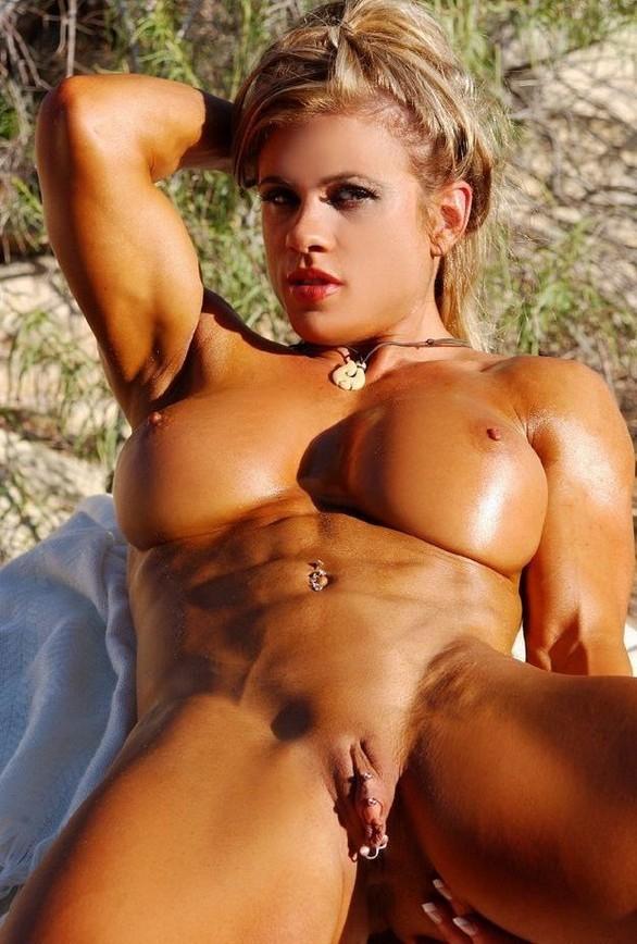 Красивые девушки культуристки порно