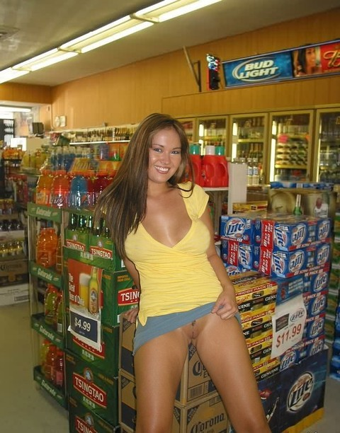 Amateur public flasher — pic 11